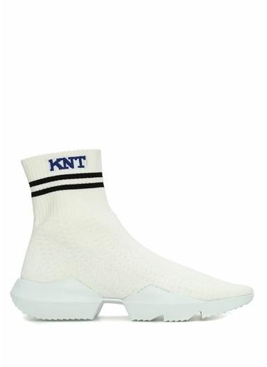 Knt Sneakers Beyaz